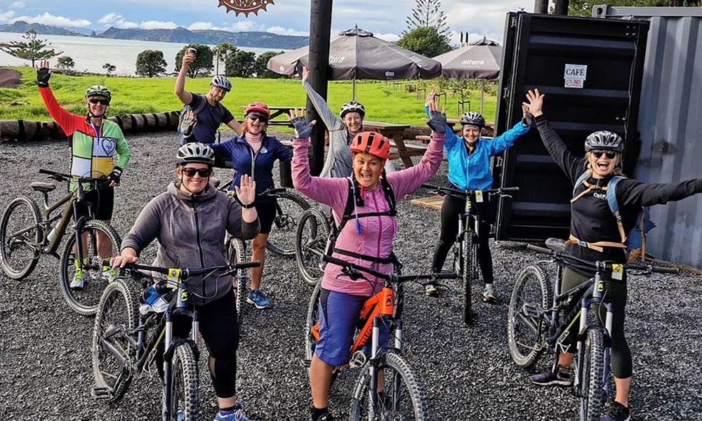 Group bike hire